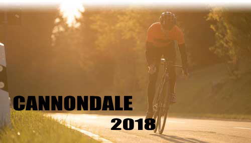 NEW! 2018 CANNONDALE